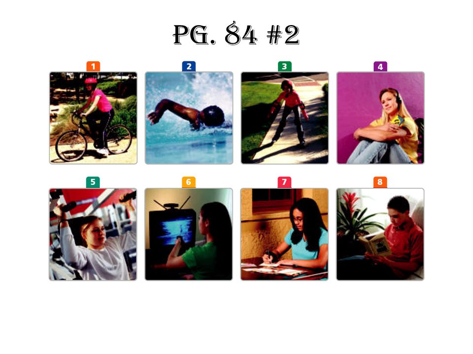 Pg. 84 #2