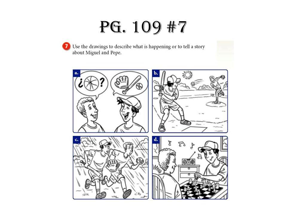 Pg. 109 #7