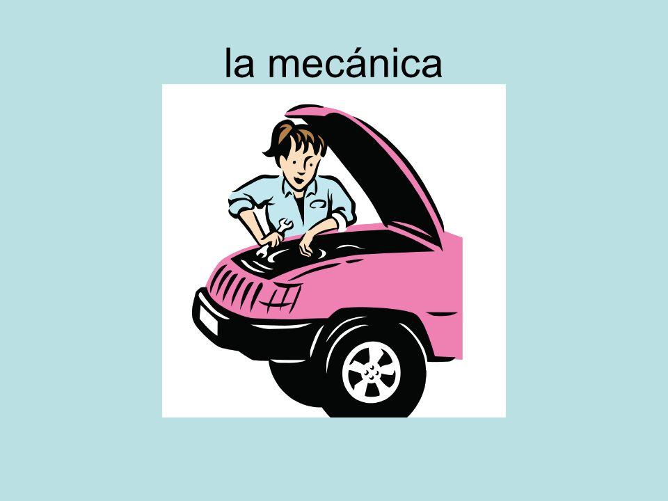 la mecánica