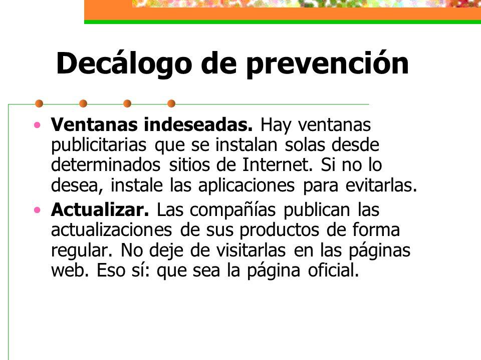 Decálogo de prevención Software legal.