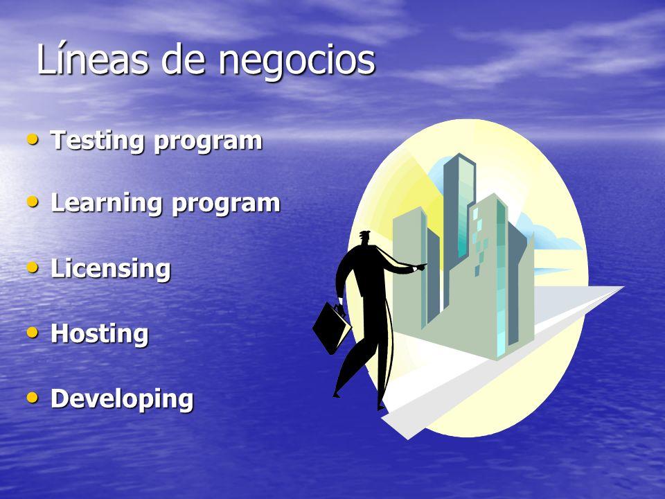 Testing program Administración de centros de certificación, dirigido a instituciones educativas.
