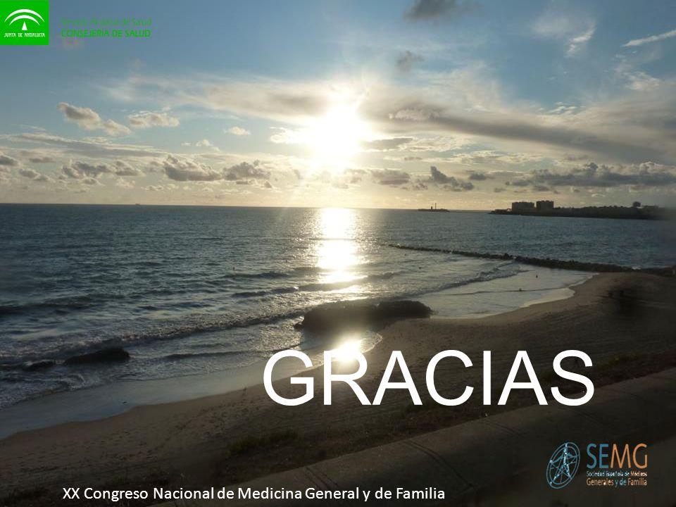 XX Congreso Nacional de Medicina General y de Familia GRACIAS