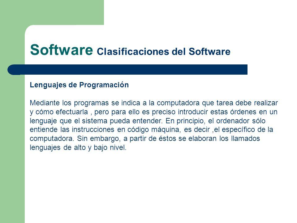 Lenguajes de Programación Mediante los programas se indica a la computadora que tarea debe realizar y cómo efectuarla, pero para ello es preciso intro