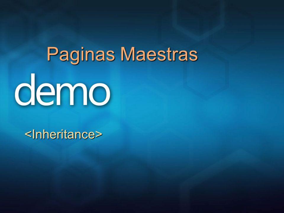 Paginas Maestras <Inheritance>