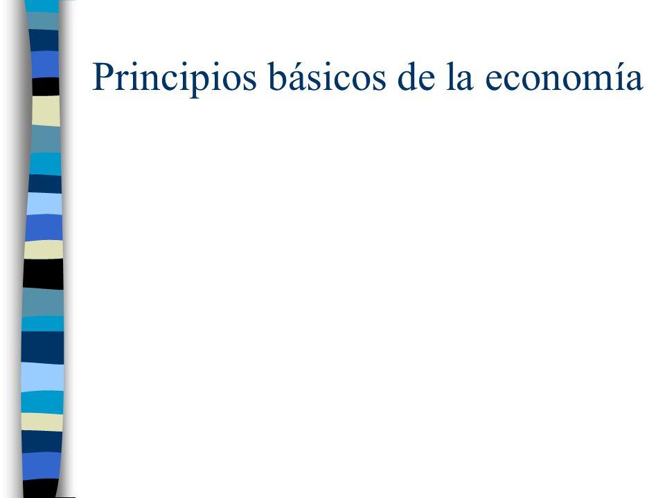 Principios básicos de la economía
