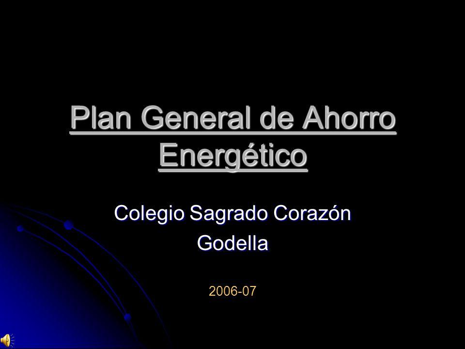 Plan General de Ahorro Energético Colegio Sagrado Corazón Godella 2006-07