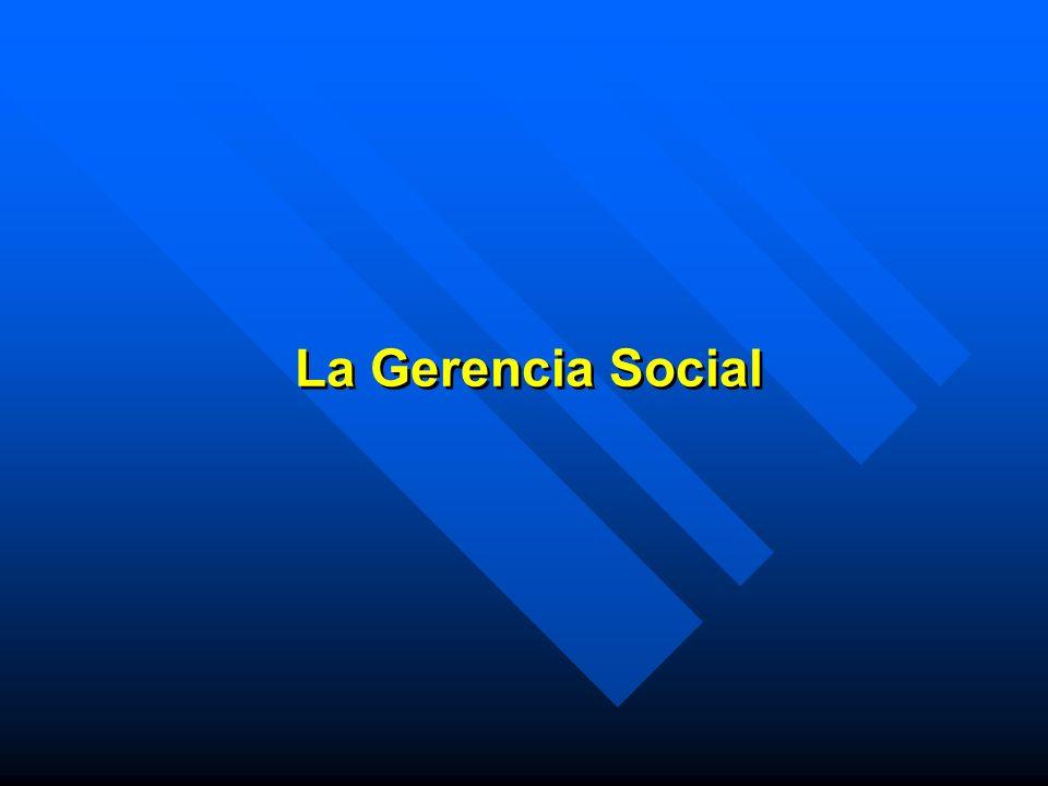 Gerencia Social...