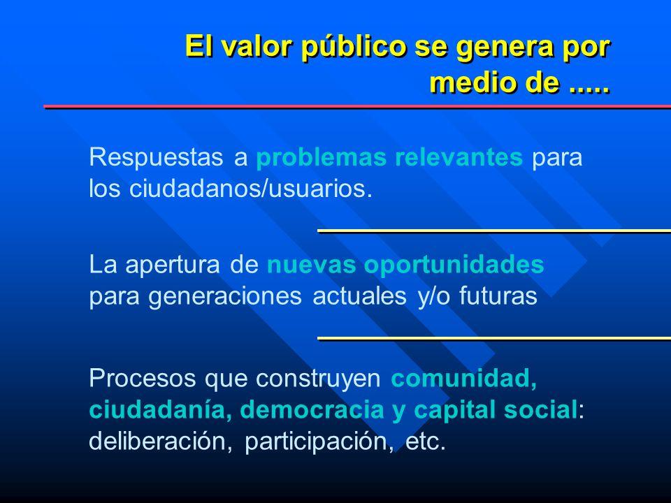 Como campo de acción Ejercicio coordinado y estratégico de múltiples funciones organizacionales y de gestión que buscan que las políticas sociales respondan de manera eficaz y eficiente a las necesidades sociales importantes para la ciudadanía, promoviendo en forma sostenida el dsifrute de derechos sociales con equidad Gerencia Social