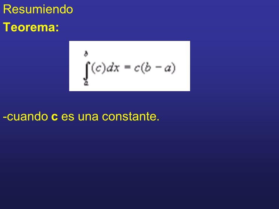 Propiedades de integración donde k es una constante donde a<c<b