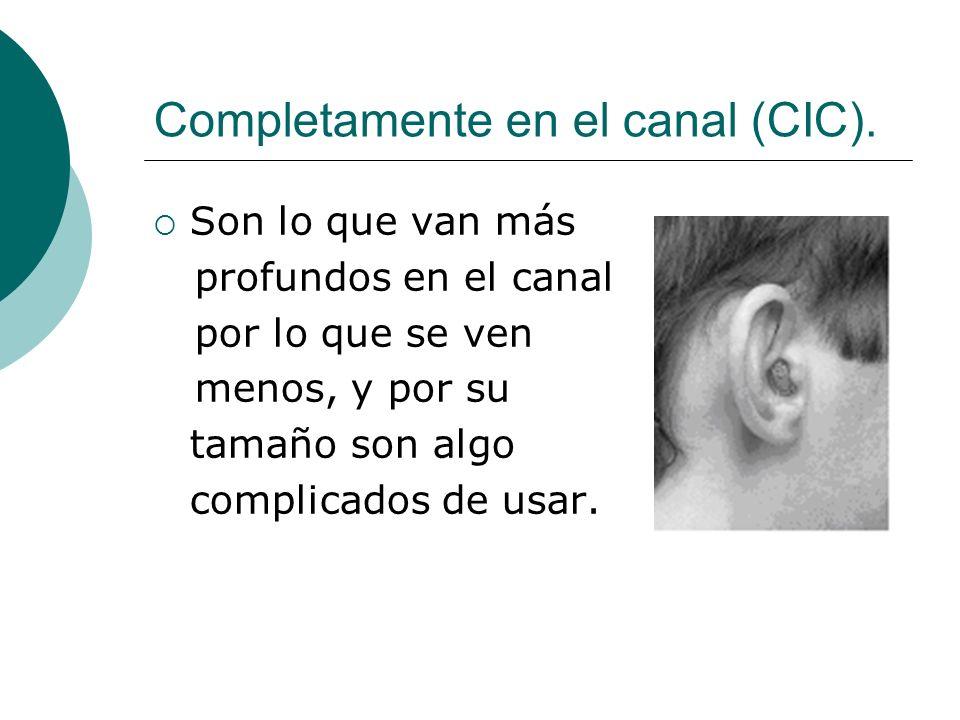 Aparato auditivo CROS/ BI-CROS Se utiliza cuando una persona no tiene graves problemas de audición y funciona con un micrófono.