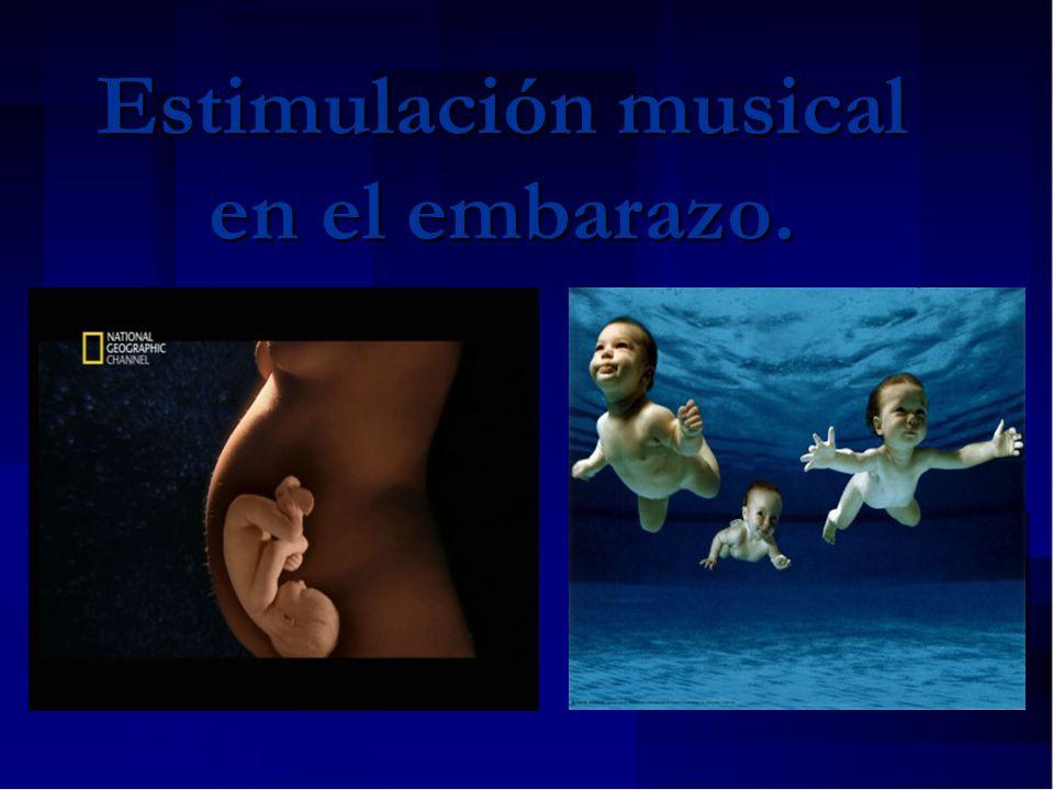 Estimulación musical en el embarazo.