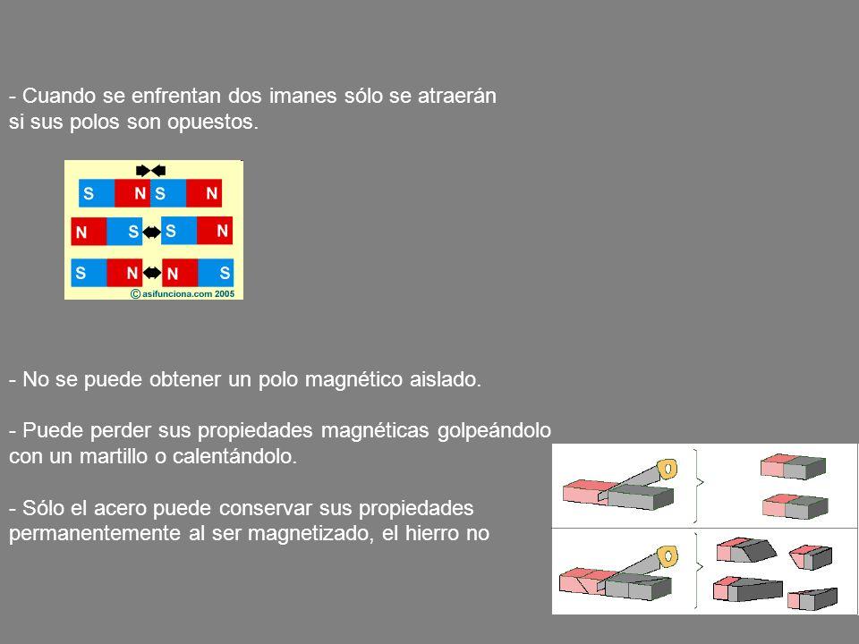 q F B V α · El Vector Campo Magnético -El campo magnético es el espacio que rodea a un elemento, por ejemplo, un imán.