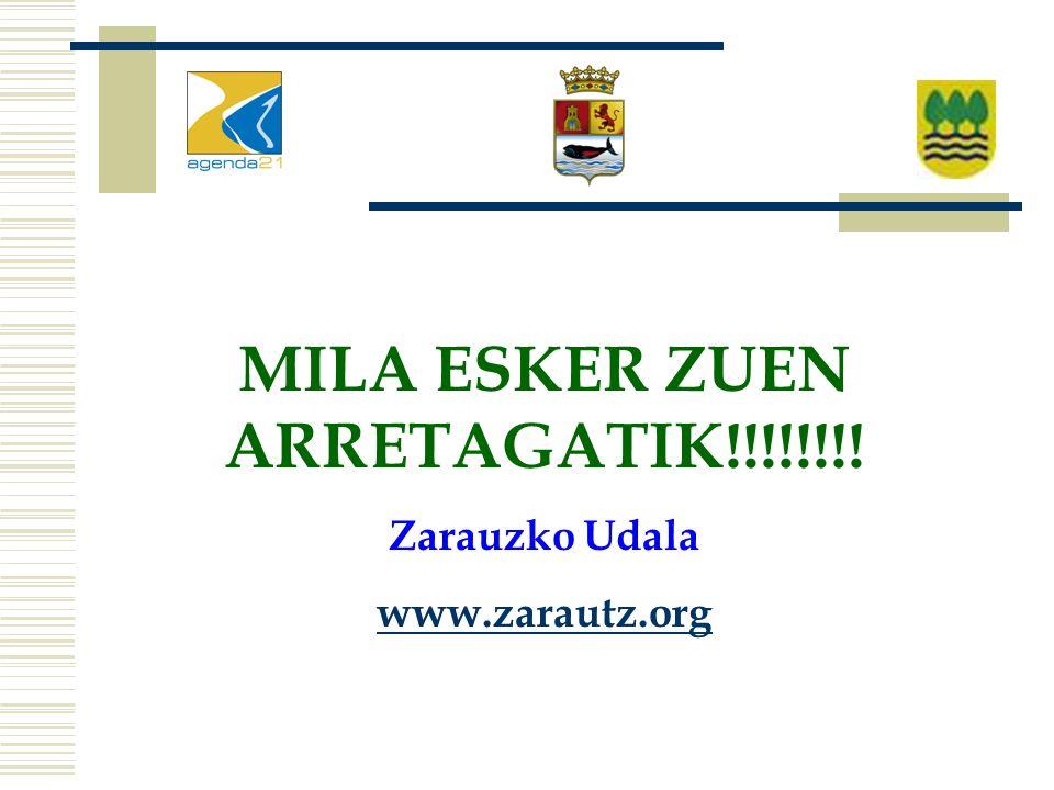 MILA ESKER ZUEN ARRETAGATIK!!!!!!!! Zarauzko Udala www.zarautz.org