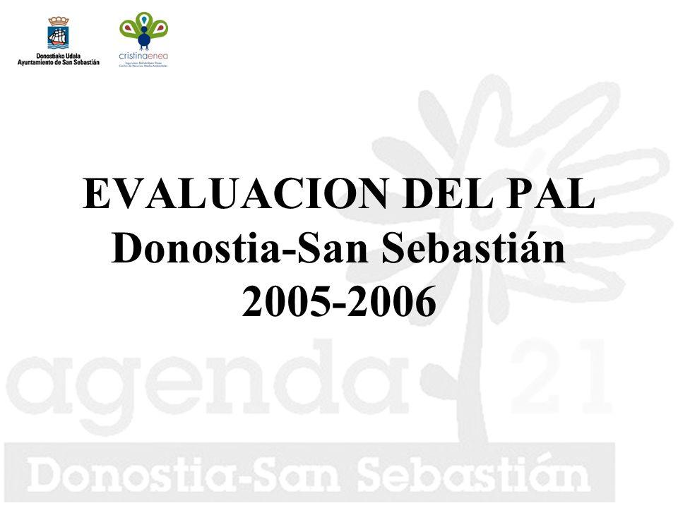 EVALUACION DEL PAL Donostia-San Sebastián 2005-2006