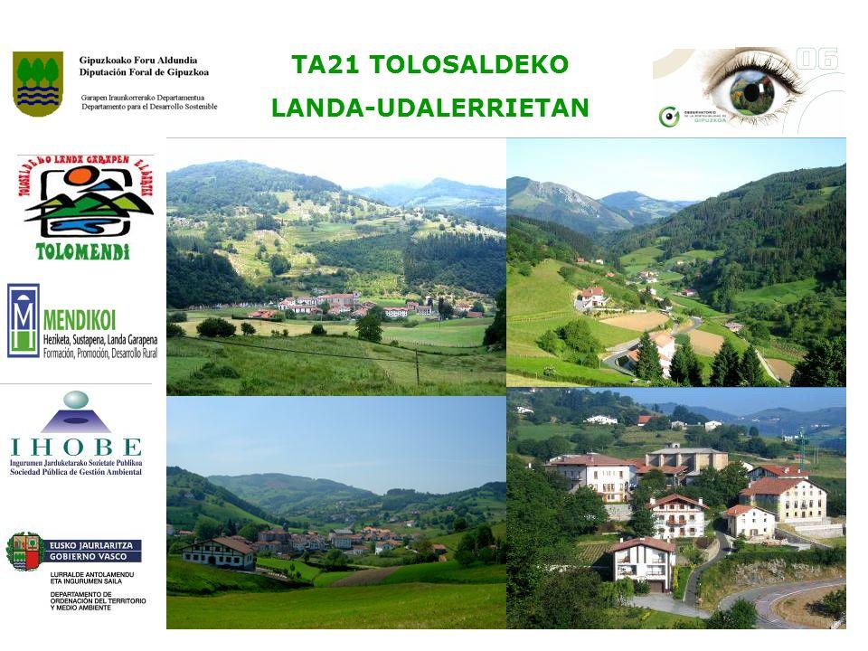 TA21 TOLOSALDEKO LANDA-UDALERRIETAN