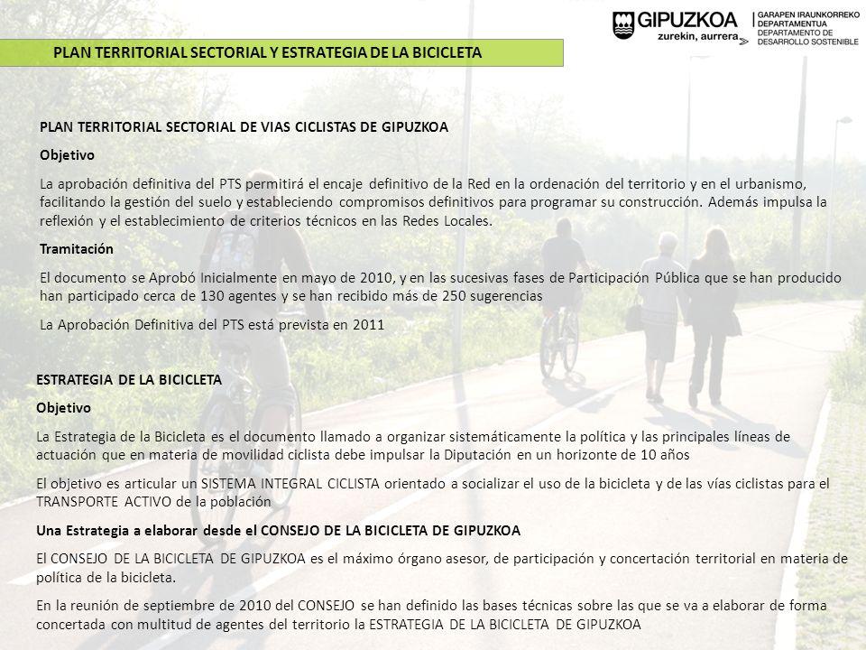 PRÓXIMAS ACTUACIONES Beasain-Lazkao Descripción: La construcción de este nuevo tramo de Bidegorri se iniciará en octubre de 2010.