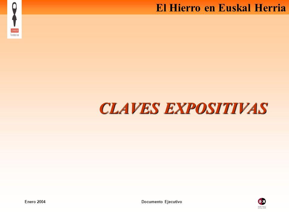 El Hierro en Euskal Herria Enero 2004 Documento Ejecutivo Resumen por áreas