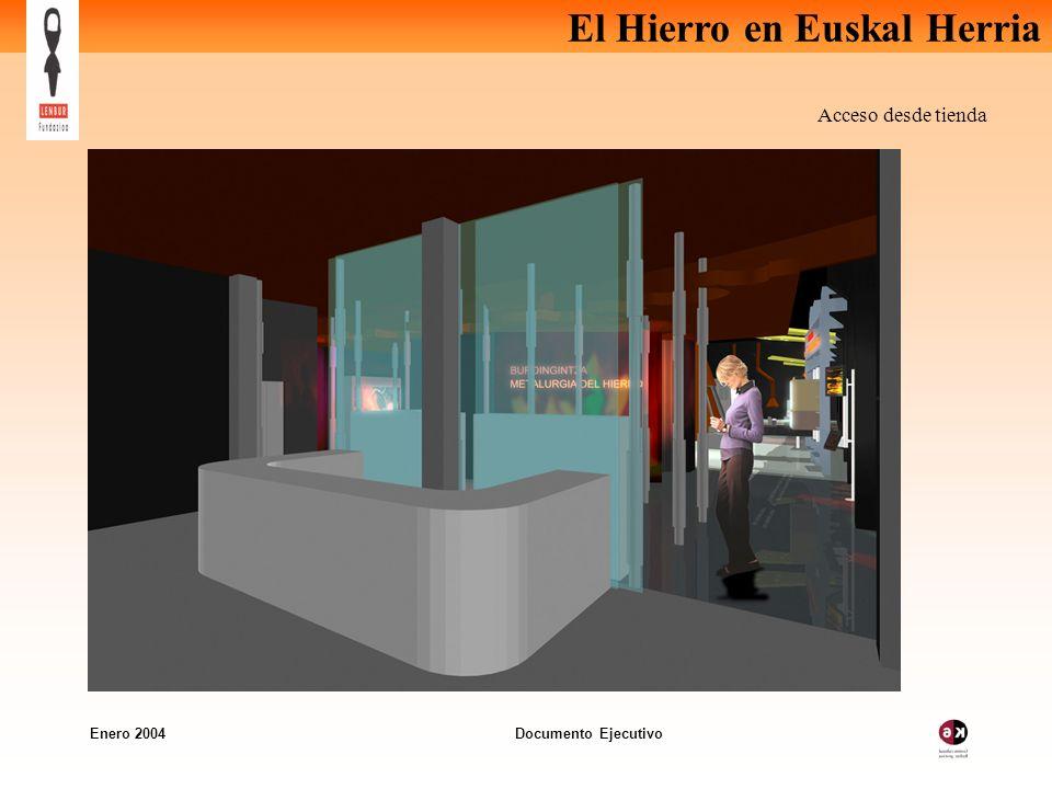 El Hierro en Euskal Herria Enero 2004 Documento Ejecutivo Acceso desde tienda