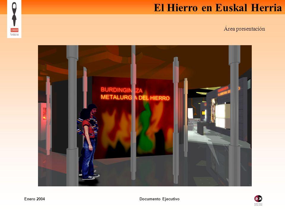 El Hierro en Euskal Herria Enero 2004 Documento Ejecutivo Área presentación