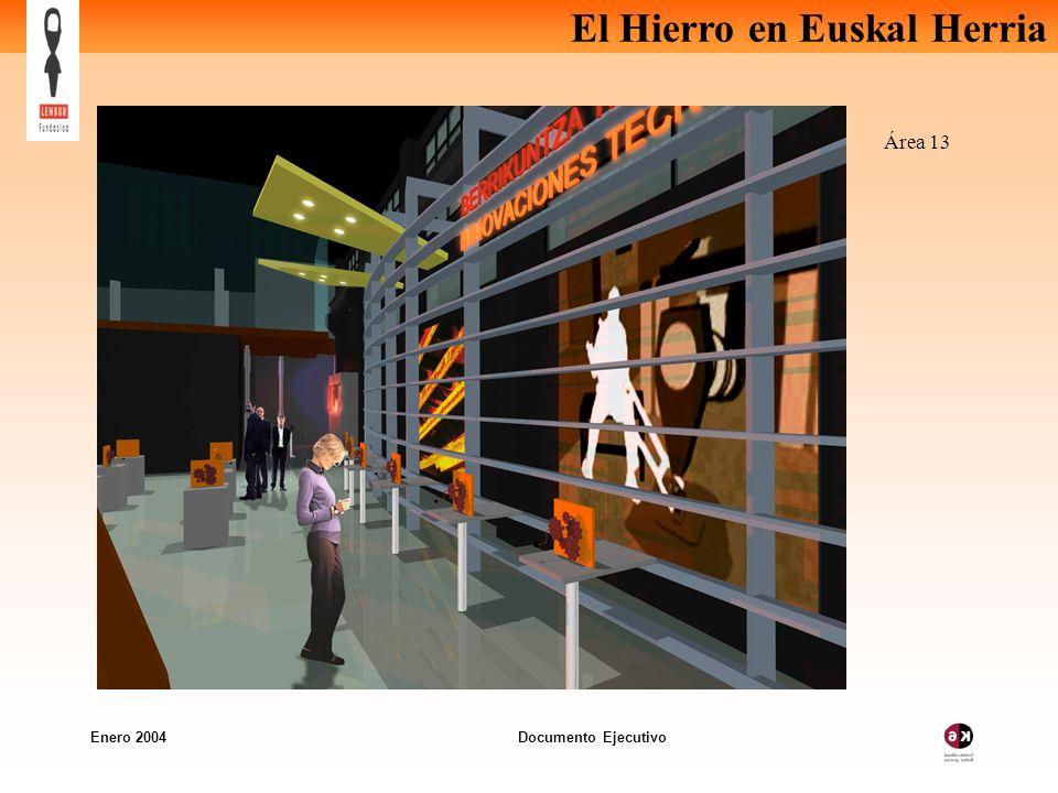 El Hierro en Euskal Herria Enero 2004 Documento Ejecutivo Área 13