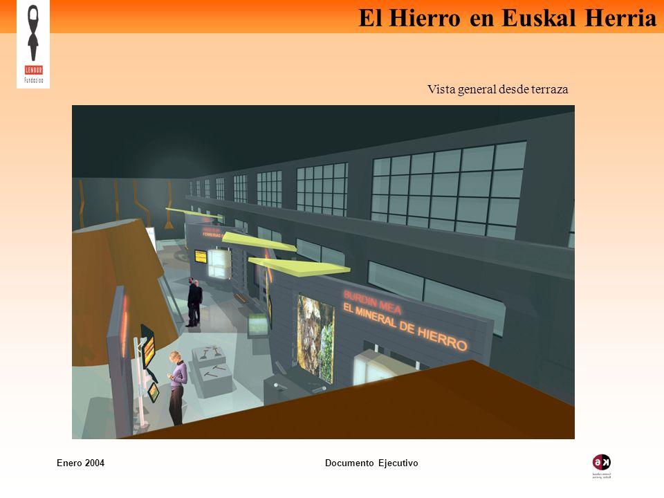 El Hierro en Euskal Herria Enero 2004 Documento Ejecutivo Vista general desde terraza