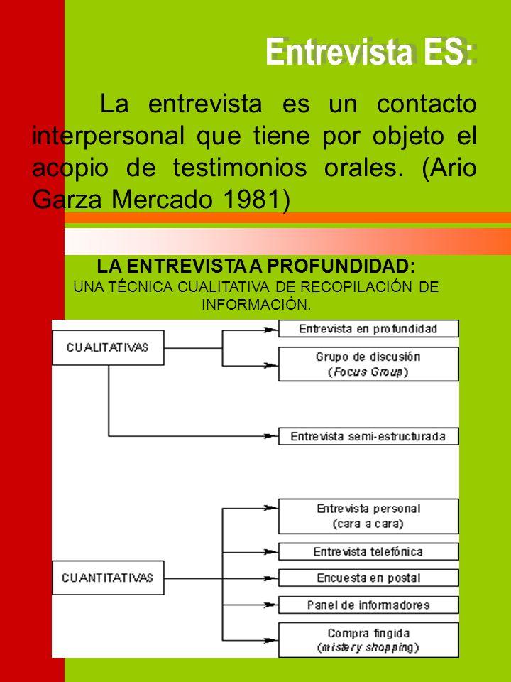 Ario Garza Mercado, en su manual de técnicas de investigación nos dice que de acuerdo al número de personas entrevistadas, la entrevista puede ser individual o colectiva y que de acuerdo con el número de personas entrevistadas en un misma sesión, las entrevistas pueden ser personales o de grupo.