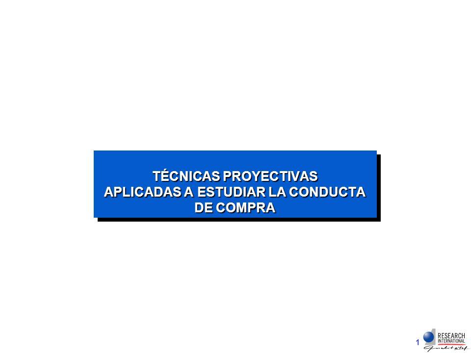 1 TÉCNICAS PROYECTIVAS APLICADAS A ESTUDIAR LA CONDUCTA DE COMPRA