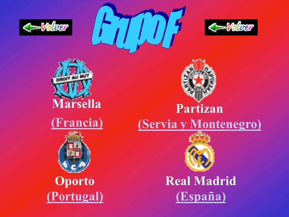 Manchester United (Inglaterra) Panathinaikos (Grecia) Rangers FC (Escocia) Stuttgart (Alemania) (Alemania)