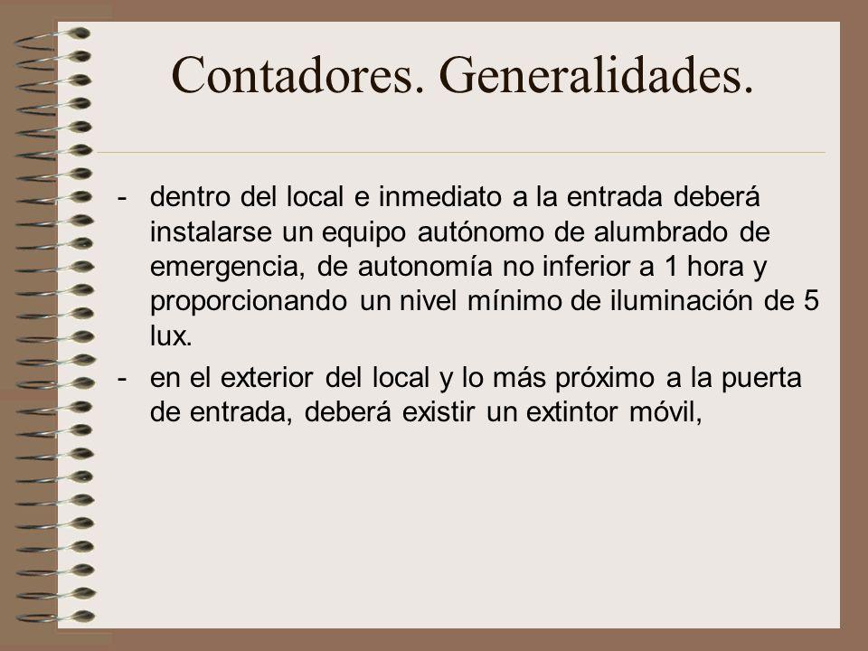 Contadores.Generalidades.