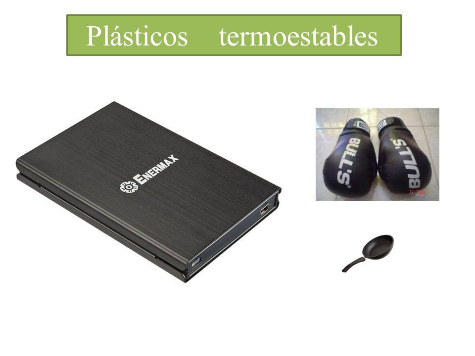 Introduccíon Plásticos termoestables Proceden de compuestos derivados del PETROLEO Están formados por:Características: Cadenas enlazadas fuertemente en distintas direcciones.