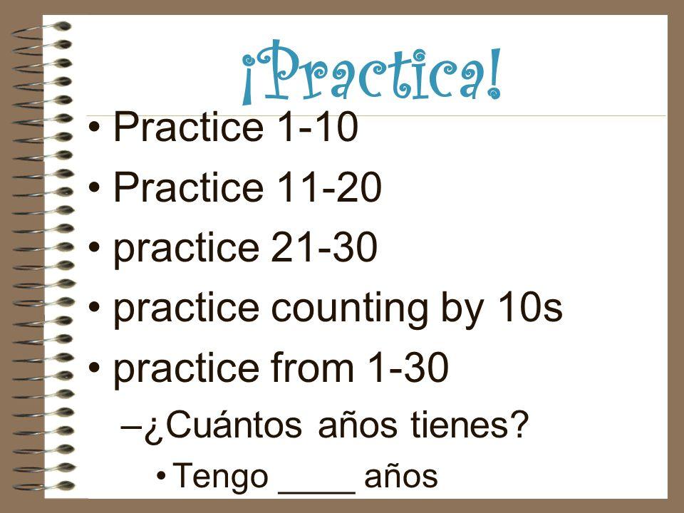 ¡Practica.