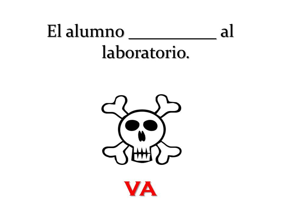 El alumno al laboratorio. va
