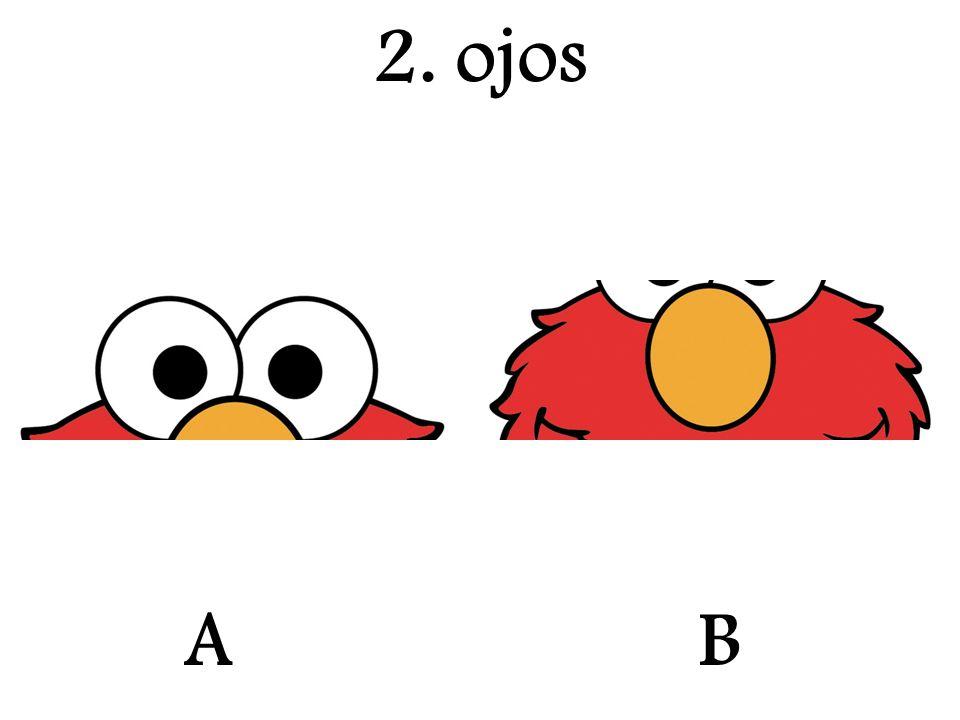 A 2. ojos B