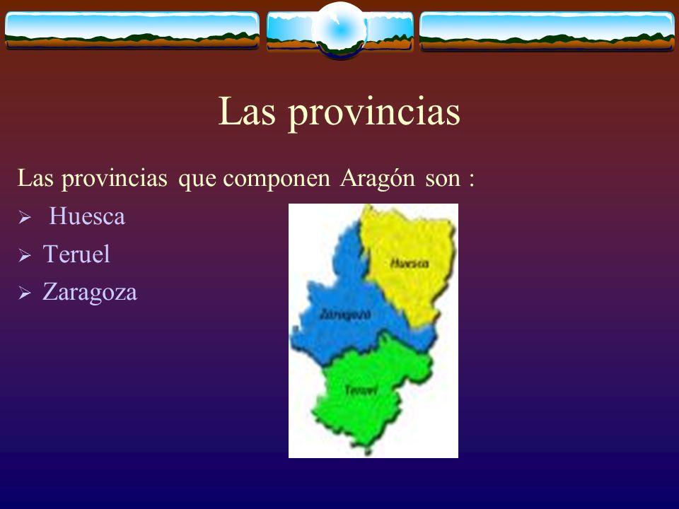 Aragón se sitúa entre Cataluña y Navarra y tiene frontera con Francia por las Pirineos centrales. Hay una población de 1 206 603 habitantes La superfi