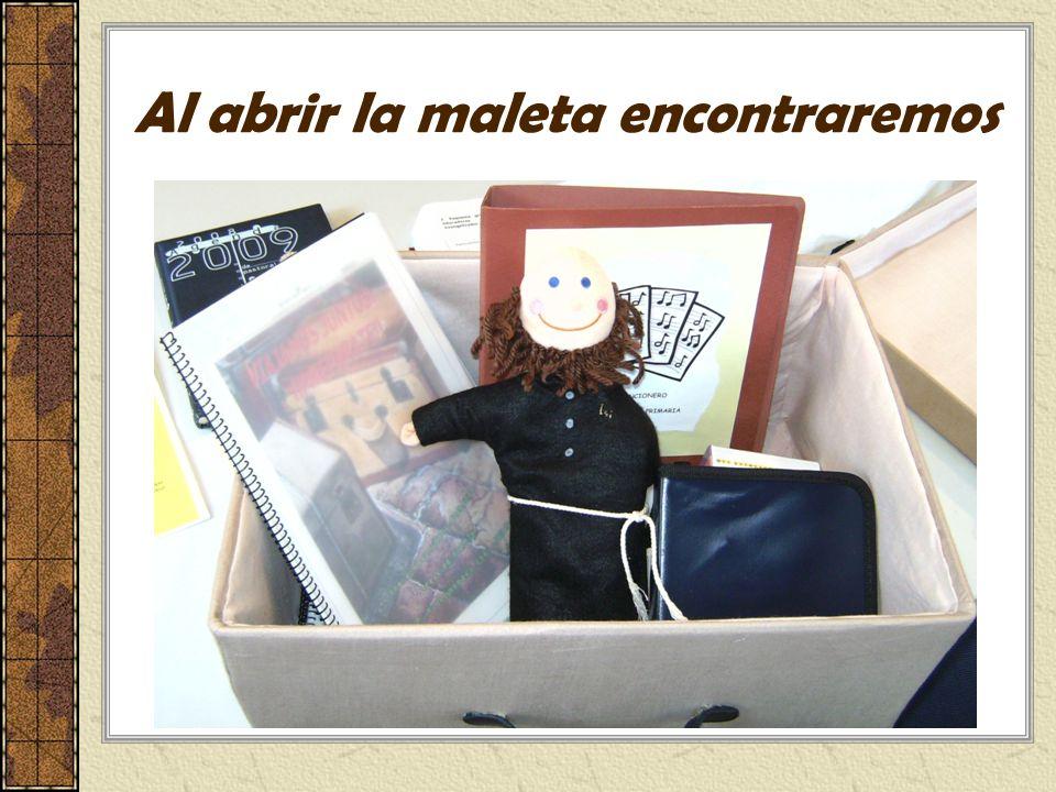 Al abrir la maleta encontraremos