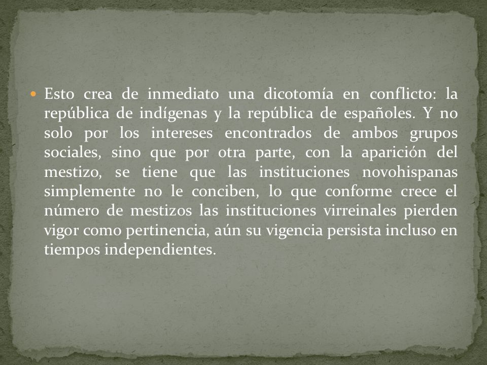 El reparto de la tierra entre mercedes reales y cementeras indígenas es el tema importante para explicar durante la vida virreinal los movimientos soc