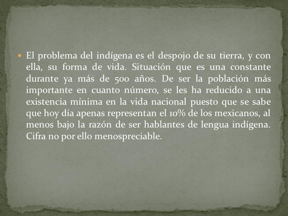 Esto crea de inmediato una dicotomía en conflicto: la república de indígenas y la república de españoles. Y no solo por los intereses encontrados de a