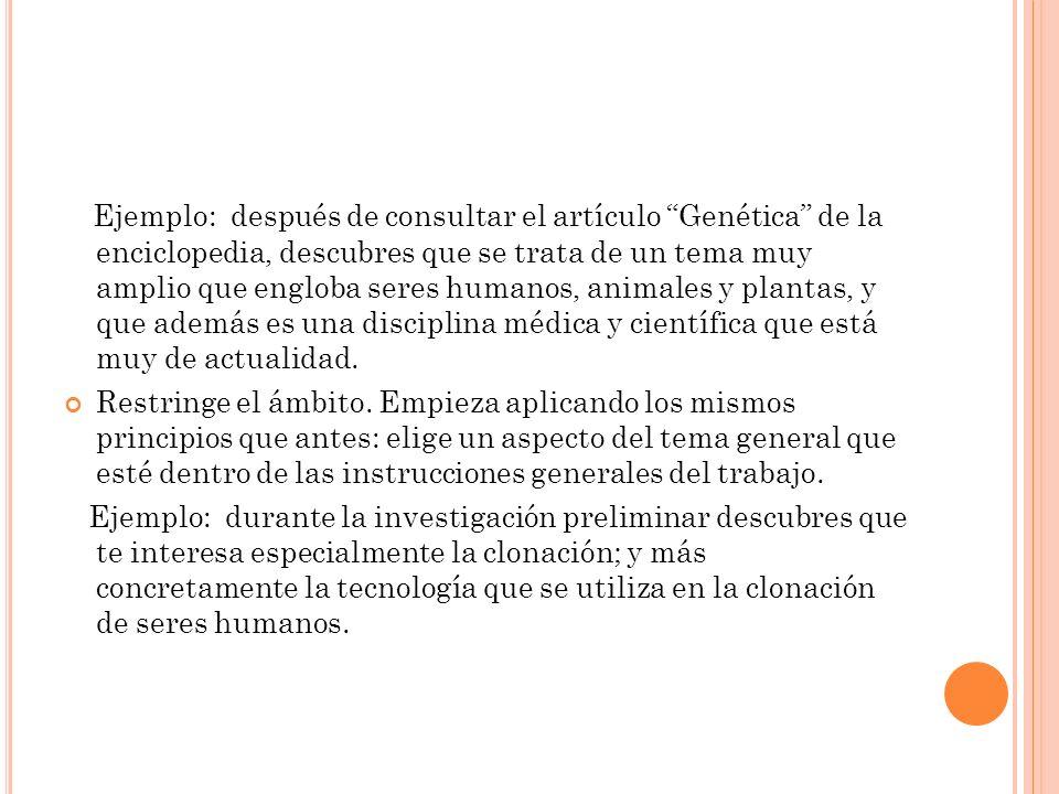 I NTRODUCCIÓN Y CONCLUSIÓN Escribe la introducción.