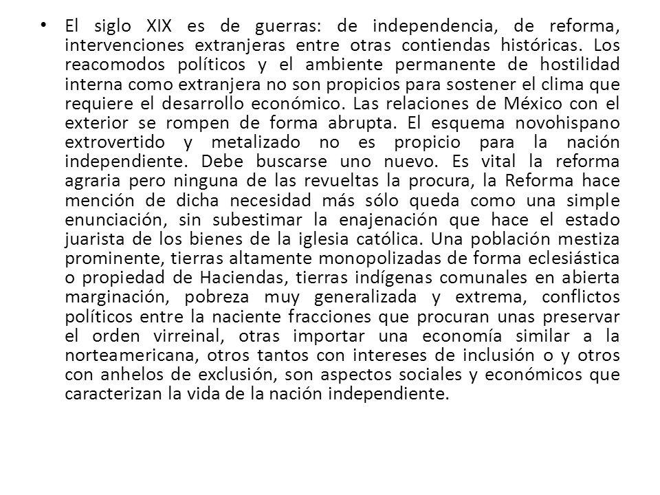 Afirma Martínez (2007) que: Pero España había quedado muy debilitada por las guerras europeas en las que había malgastado el oro y la plata americanos.