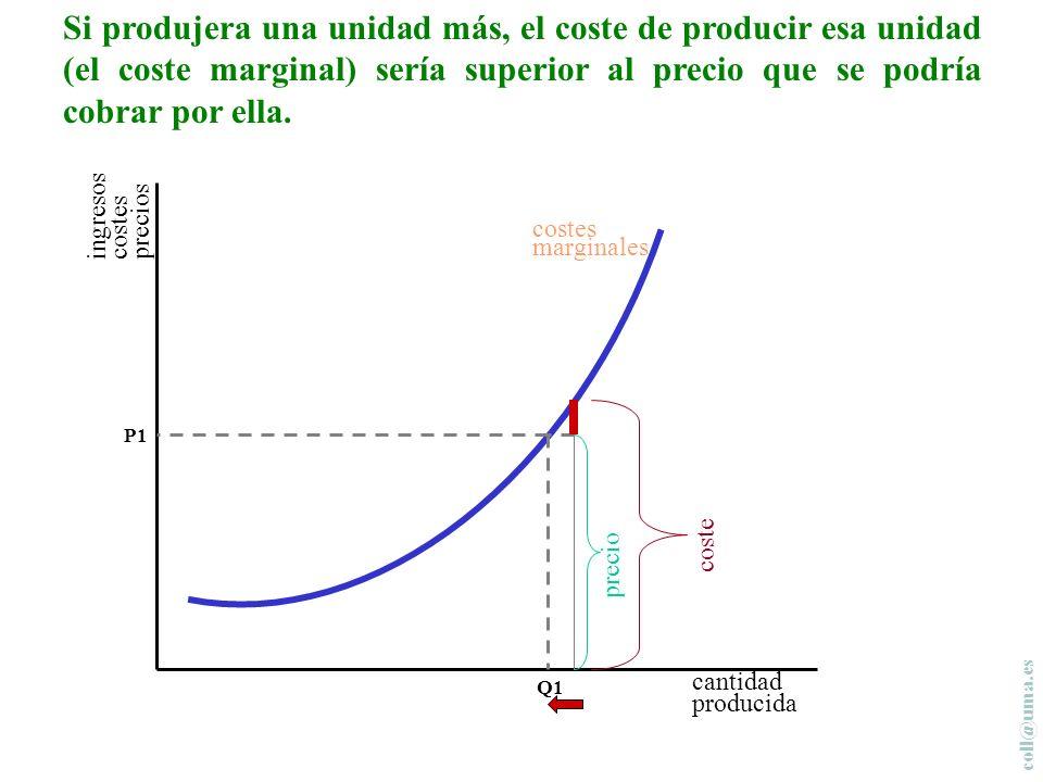 coll@uma.es cantidad producida costes marginales En primer lugar, tendrán en cuenta sus costes marginales.