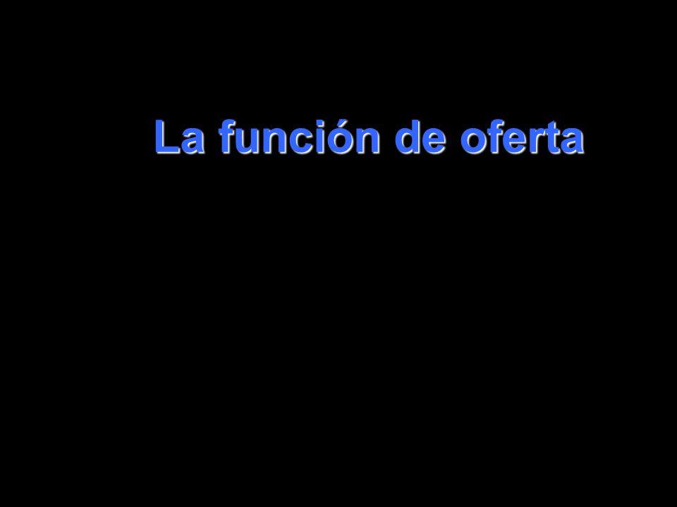 coll@uma.es La función de oferta