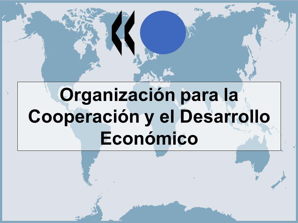 1 Organización para la Cooperación y el Desarrollo Económico