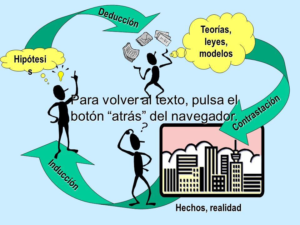 Contrastación Inducción Deducción Por lo que elaborarán diferentes leyes, teorías y modelos.