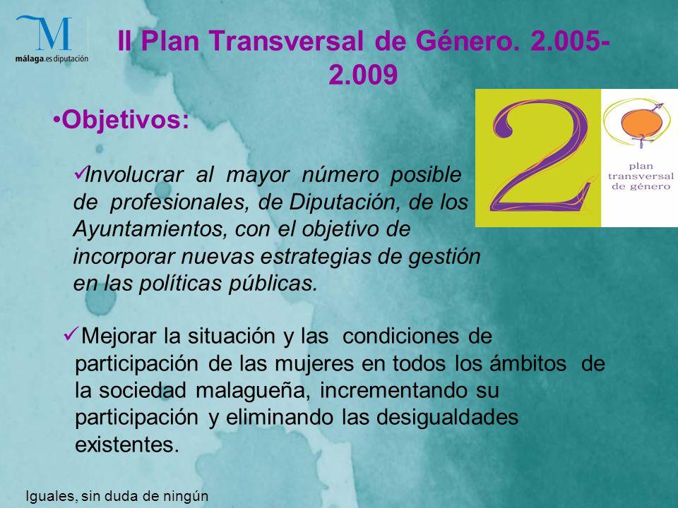 II Plan Transversal de Género.