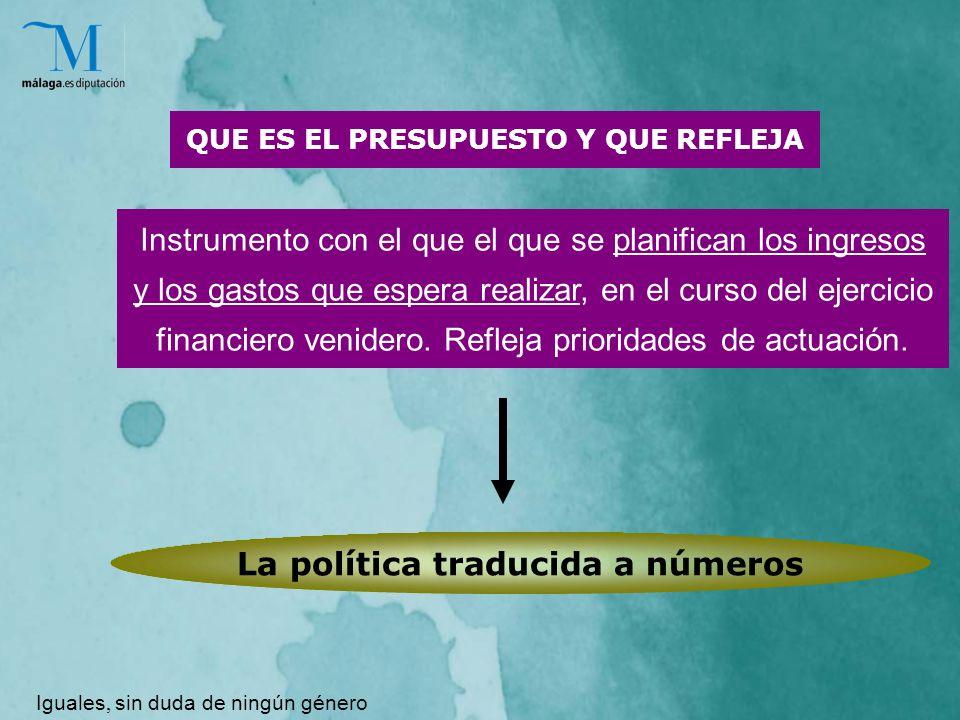 Instrumento con el que el que se planifican los ingresos y los gastos que espera realizar, en el curso del ejercicio financiero venidero.