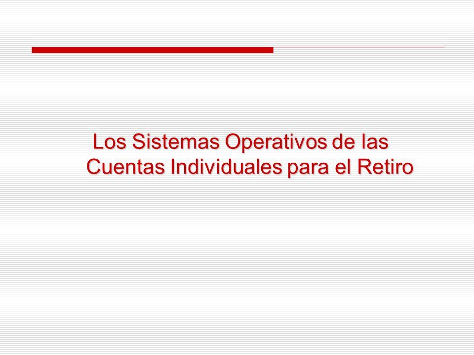 Casos Analizados IRS (agencia tributaria de EE.UU.)IRS (agencia tributaria de EE.UU.) Los Sistemas Operativos de los Programas de Pensiones de Cuentas IndividualesLos Sistemas Operativos de los Programas de Pensiones de Cuentas Individuales IMSSIMSS SSASSA ANSESANSES