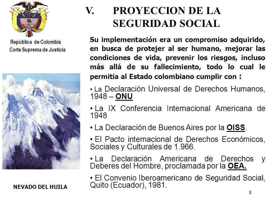 19 RIO CAQUETA República de Colombia Corte Suprema de Justicia El Artículo 36 de la Ley 100 de 1993 ¿Se necesita estar afiliado al entrar a regir la Ley .