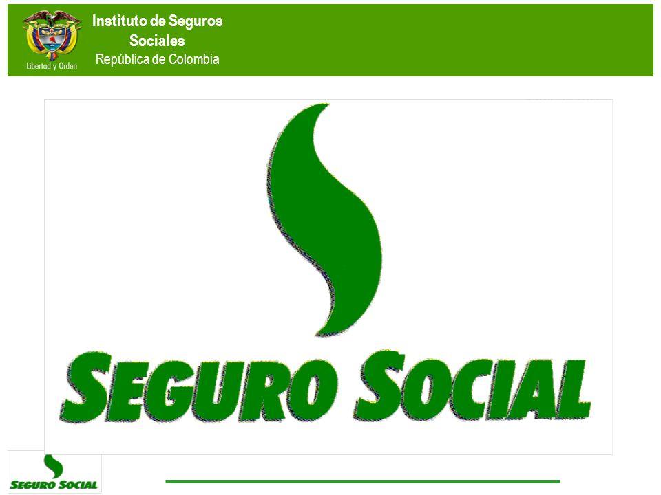 Instituto de Seguros Sociales República de Colombia