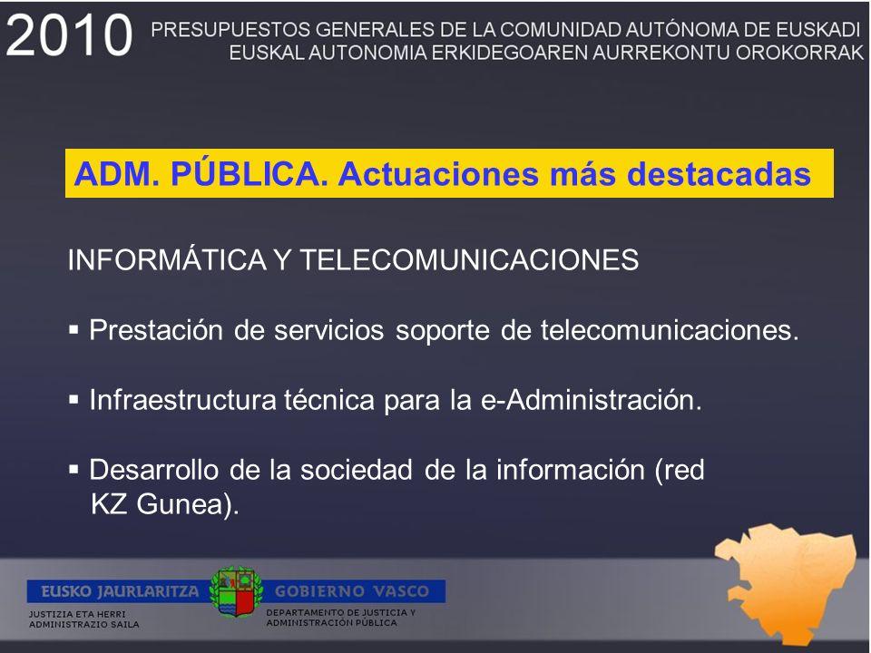 INFORMÁTICA Y TELECOMUNICACIONES Prestación de servicios soporte de telecomunicaciones.