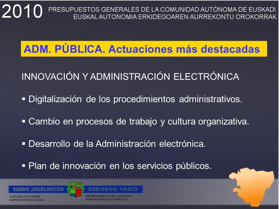 INNOVACIÓN Y ADMINISTRACIÓN ELECTRÓNICA Digitalización de los procedimientos administrativos.